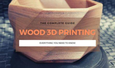wood 3d printer printing guide filament