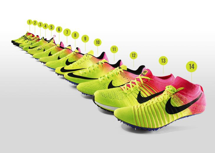 nike spikes rio 2016 stampa 3d