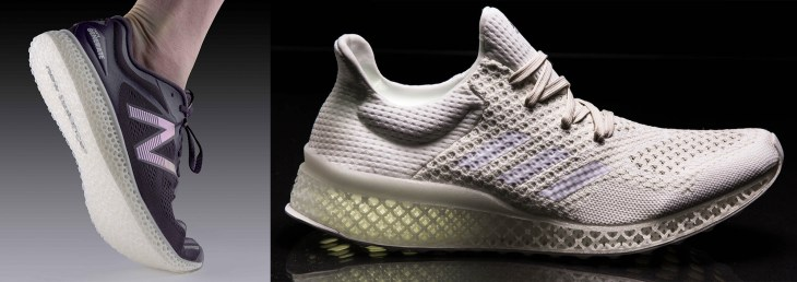new balance e futurecraft 3d printed shoes