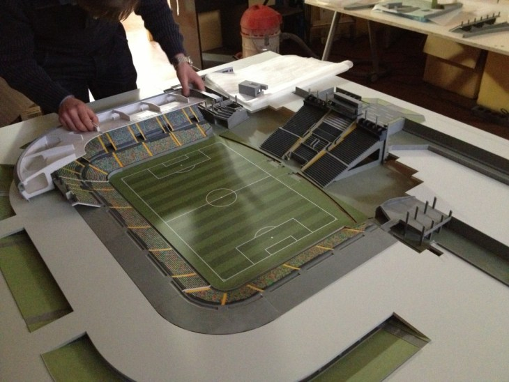 Stadio Friuli di Udine - stampa 3D