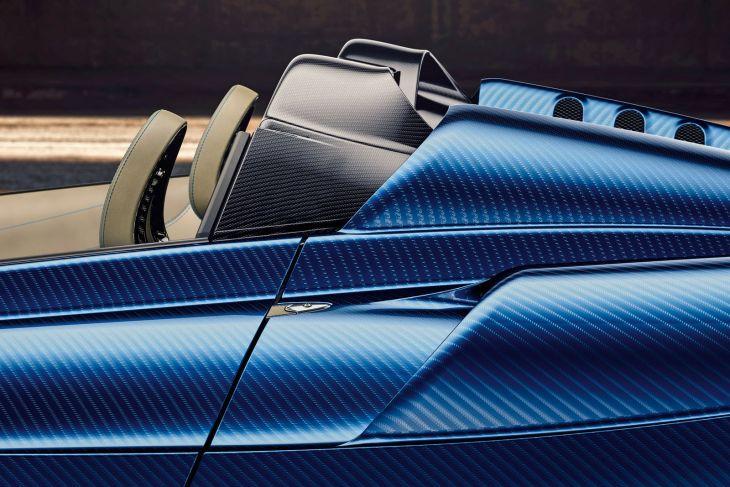 Huayra Roadster 3d customization