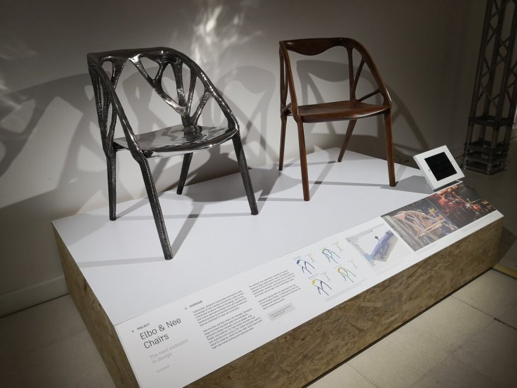Generative design chair 3D