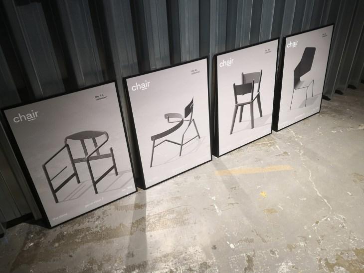Generative design chair 3D