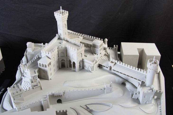 De Albertis Castle - Genova - tactile model