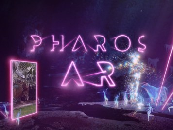 pharos AR 3D music app