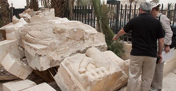 leone mosul stampa 3d - restauro del leone di al-alat