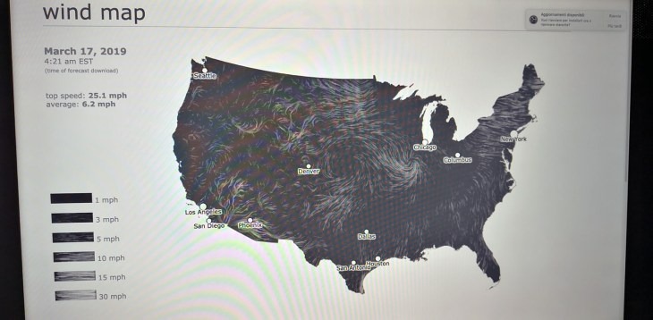 broken nature design - wind map