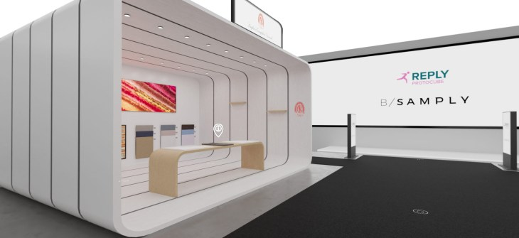 virtual booth cover 3d