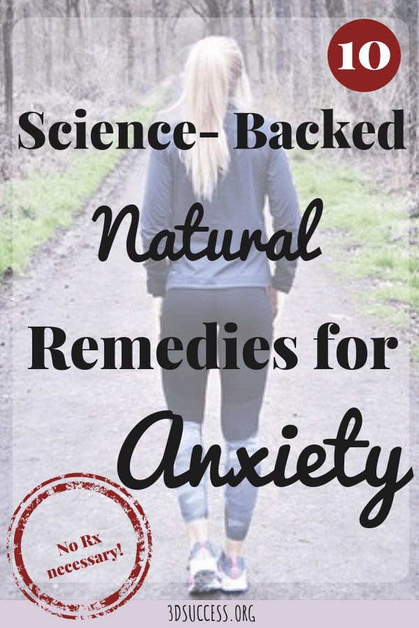 Ten science-backed, natural anxiety remedies