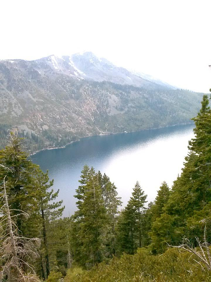serene peaceful mountain lake