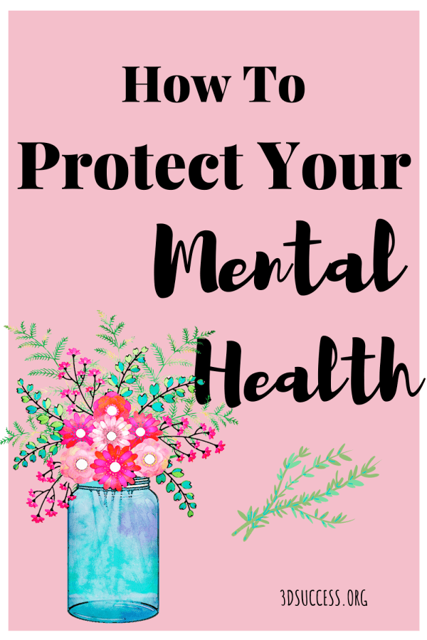 How to Protect Your Mental Health Pin