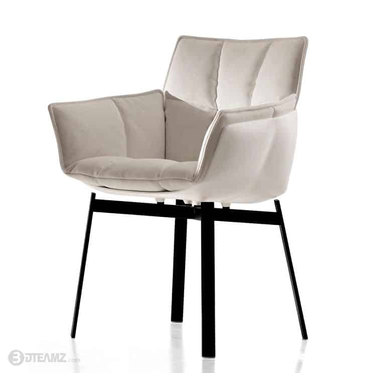 Leolux Helical Design Fauteuil.Bb Italia Husk Chair Minimalist Interior Design