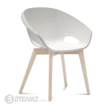 Stupendous Okay Globe Lg White Chair 3D Model Inzonedesignstudio Interior Chair Design Inzonedesignstudiocom