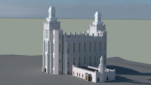 Logan Temple, 1886