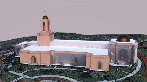 Newport California Temple