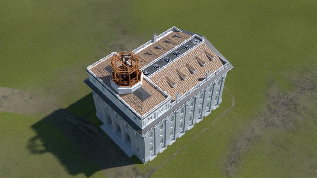 Nauvoo Temple Tower 3