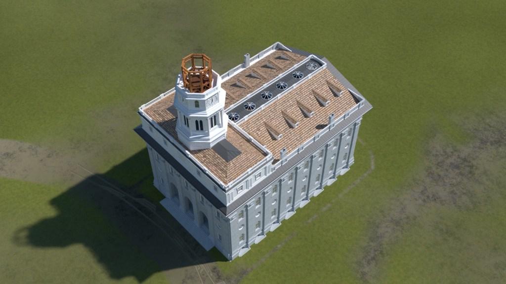 Nauvoo Temple Tower 6