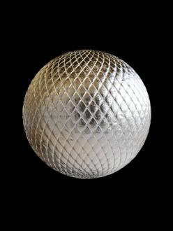 metal pattern diamonds