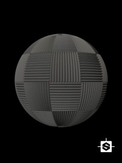 free pbr seamless acoustic foam texture
