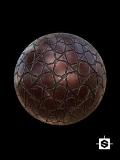 free seamless pbr metal plate sci-fi texture