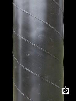 metal spiro duct fumes smoke extraction