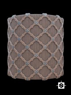 wood pattern coffers