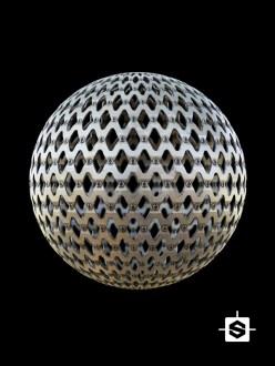 scifi sci-fi metal mesh