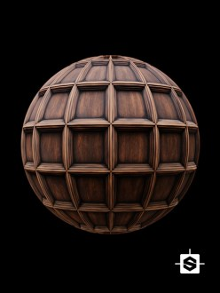 wood ceiling coffers