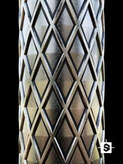 metal pattern diamond