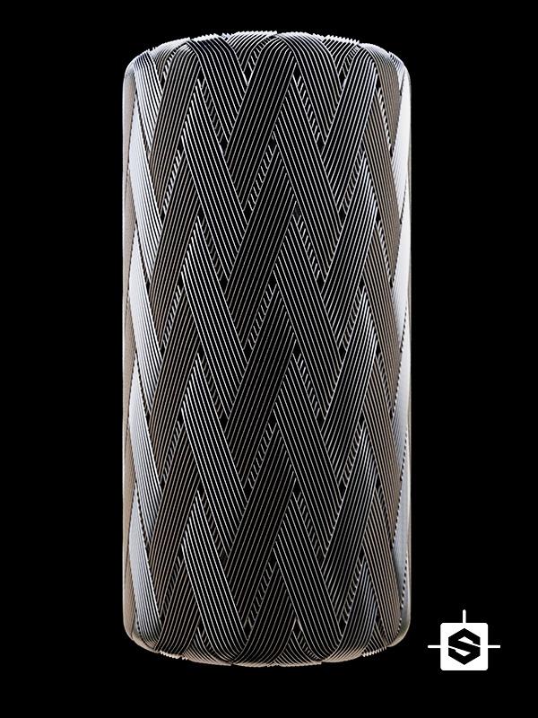 metal weave tube