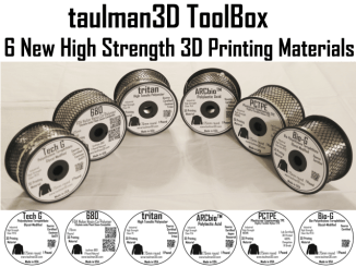 Taulman 3D Six Filament Types