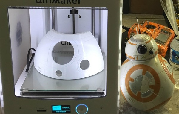 BB8 Models Using 3D Printers