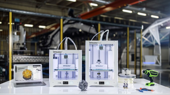 Ultimaker 3 and Ultimaker 3 Extended