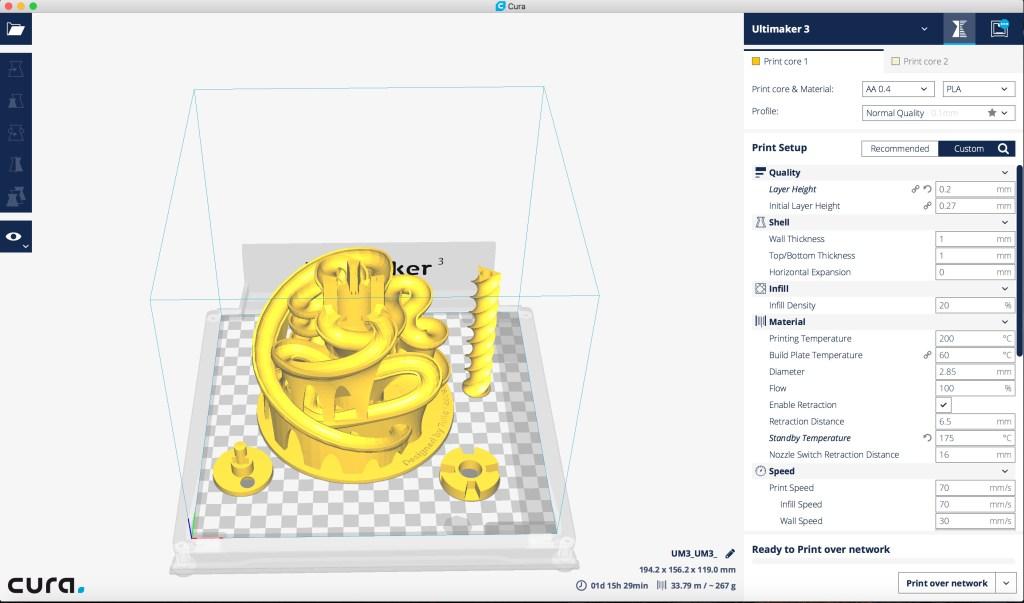 3D Printing Time Lapse