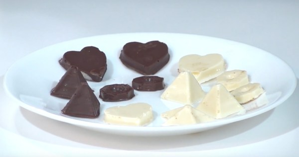 Chocolates from Custom Chocolate Mold