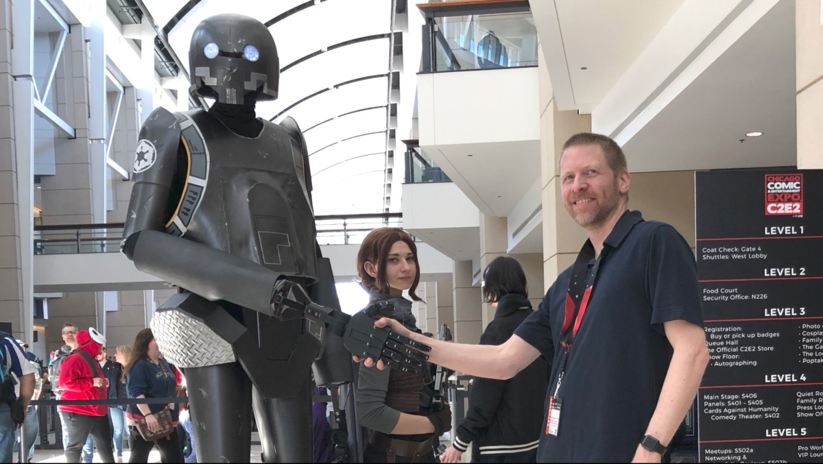 K-2SO Cosplay Project with 3D Printed Mechanical Hands