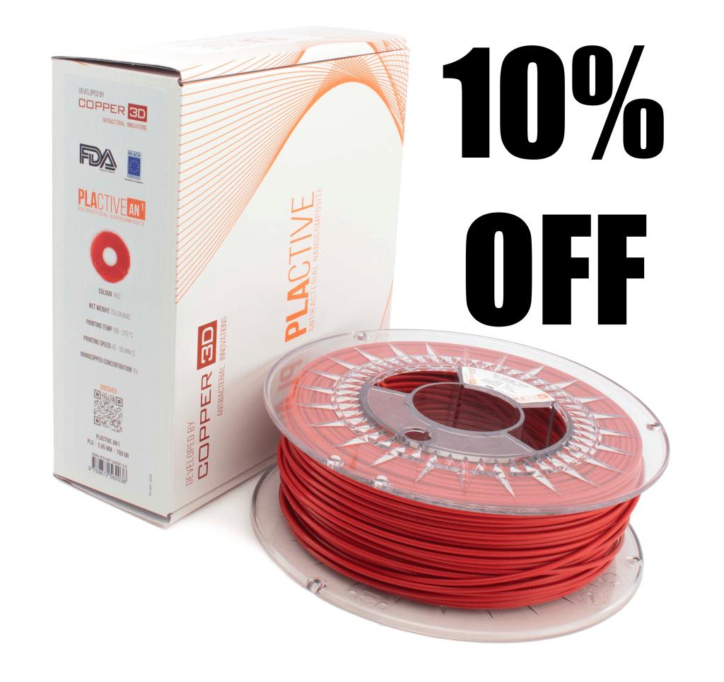 Copper 3d Antibacterial Thermoplastics sale