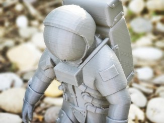 Astronaut 3D print