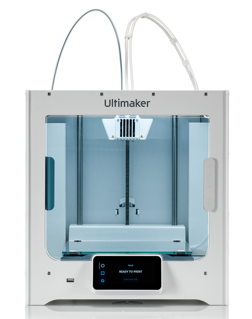 The new Ultimaker S3 3D printer