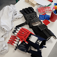 3D printed e-NABLE Demo hands for STEM education