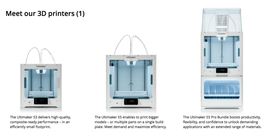 The Ultimaker S3, S5 and S5 Pro Bundle product overview