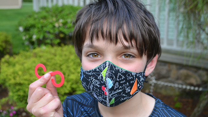 10 Year old Ryan Golditch is making 3D printed ear savers for COVID-19 Workers in his area