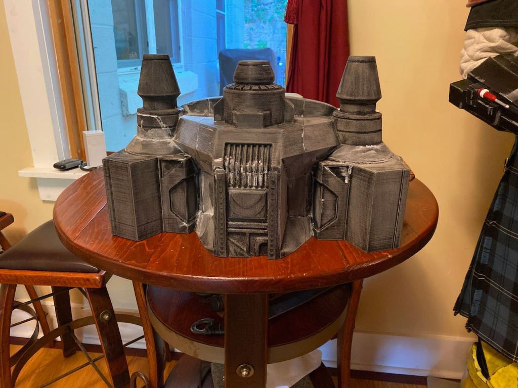 Serial Kilter 3D Printed Heavy Infantry Mandalorian Armor mid build