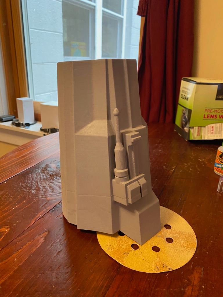 Serial Kilter 3D Printed Heavy Infantry Mandalorian Armor pieces before being painted