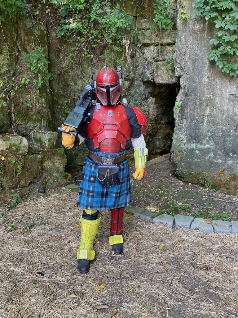 Completed Serial Kilter 3D Printed Heavy Infantry Mandalorian Armor