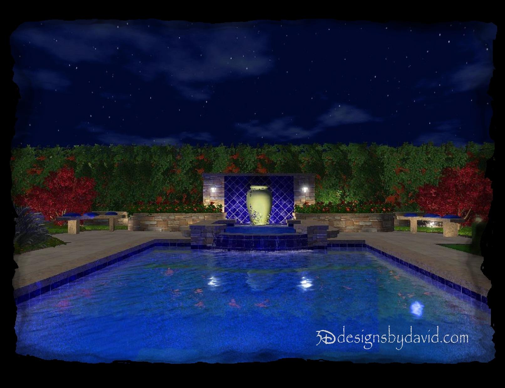 Liquid designs 3d designs by david for Virtual pool builder