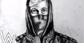 alan walker sketch
