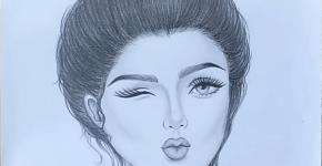 Draw So Cute Girl
