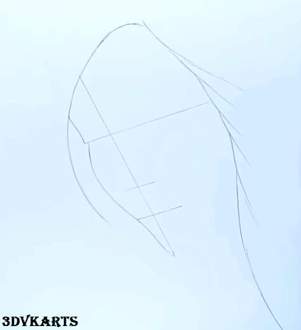 Girl Crying Drawing