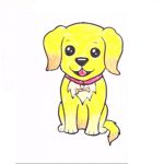 Dog Drawing for kids